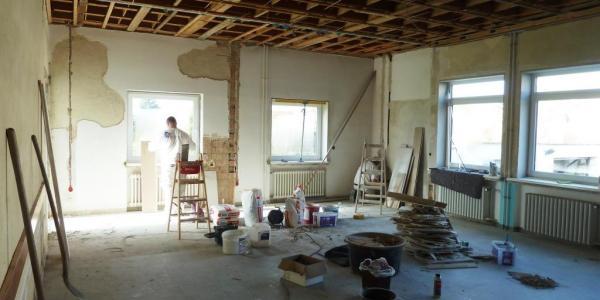 Gemeindehaus-Umbau