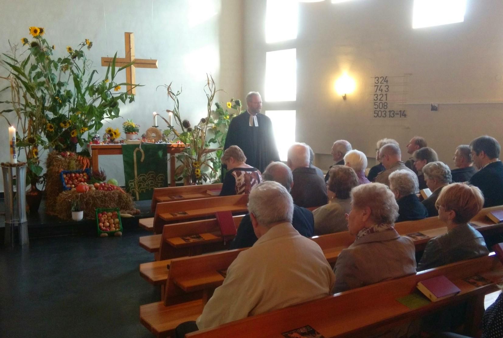 Erntedankgottesdienst in Knickhagen