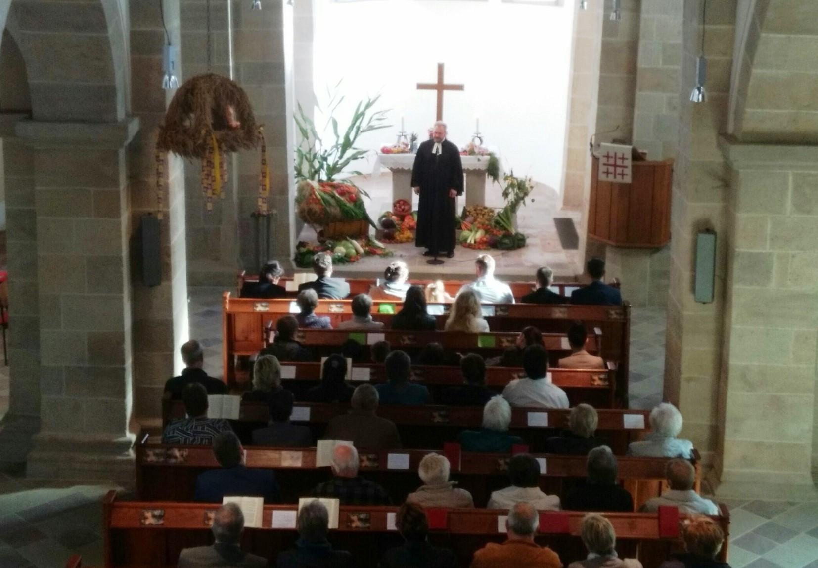 Erntedankgottesdienst in Wilhelmshausen