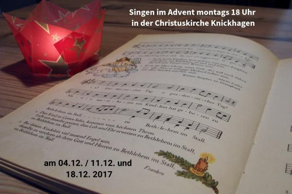Singen im Advent KNI 2017