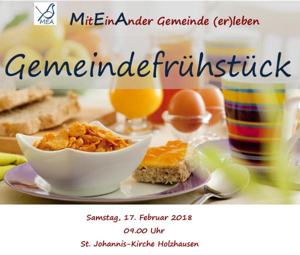 Gemeindefrühstück 2