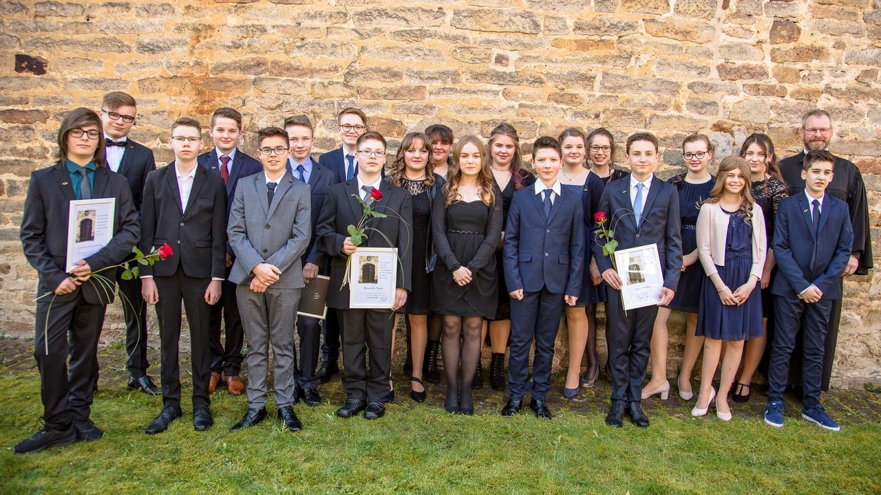 Konfirmation in Holzhausen 2018