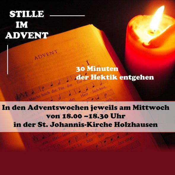 Stille im Advent